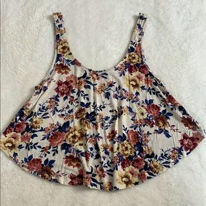 Baby Doll Floral Tank